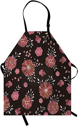 delantal de flores de la marca RyounoArt
