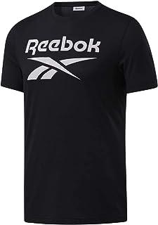 تي شيرت ايدينتيتي بشعار كبير للرجال من ريبوك