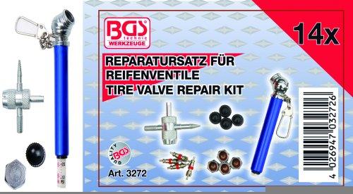 14-piece Tire Valve Repair Kit
