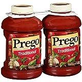 Prego Traditional Spaghetti Sauce, 67 oz, 2 pk