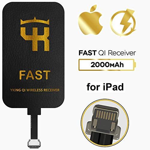 Yking 2000 mAh QI Wireless Charging Receiver for iPad - Wireless Charging Adapter for iPad