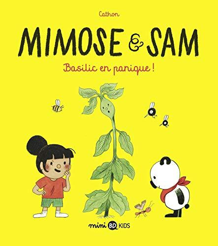 Mimose et Sam, Tome 01: Basilic en panique ! - histoire complète (Mimose et Sam (1))
