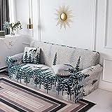 WXQY Funda de sofá geométrica elástica para Sala de Estar,...