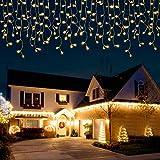 ThorFire Cortina de Luces, 400 LEDS,Cadenas de Luces Interior y Exterior, LED Luces decorativas para Decoración de Ventana, Patio, Balcón, Salón de Fiestas,Jardín,Bar, Día de San Valentín, Boda,etc