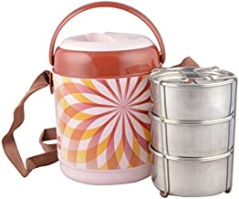 Cello Mark 3 Insulated Lunch Carrier, Brown