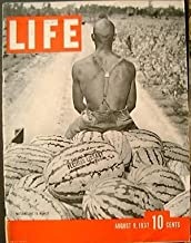 Life Magazine August 9, 1937 - Cover: Watermelons to Market