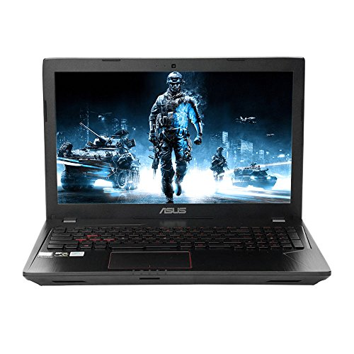 ASUS 15.6' Full HD Gaming Laptop, Intel Quad-Core i7-7700HQ 2.8GHz Processor, 8GB RAM, 256GB SSD, NVIDIA GeForce GTX 1050 2GB Graphics, DVD-RW, 802.11AC, Bluetooth, HDMI, Backlit Keyboard