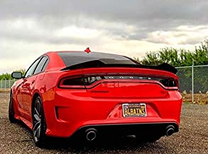 ZL1 Addons Stealth 2 Piece Wicker Bill | Polished Edge | Compatible with 15-19 Charger SRT & Hellcat