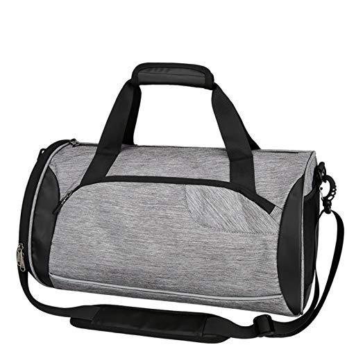 Sports Bag Gym Bag Holdall Shoe Compartment Pocket Men Women Duffel Shoulder Fitness Bag