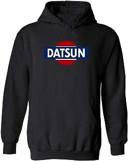 Datsun White Retro Logo Hoodie New! Hoodie 240z 260z 280z ZX 510 Fairlady