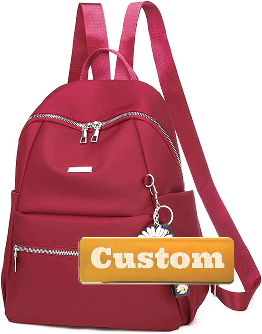 WOSHISHEN Personalized Name Leather and Backpack Handbag Women Finally resale start Max 81% OFF P