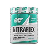 GAT Sport, NITRAFLEX Testosterone Boosting Powder, Increases Blood Flow, Boosts Strength and Energy, Improves Exercise Performance, Creatine-Free (Beach Blast, 30 Servings)