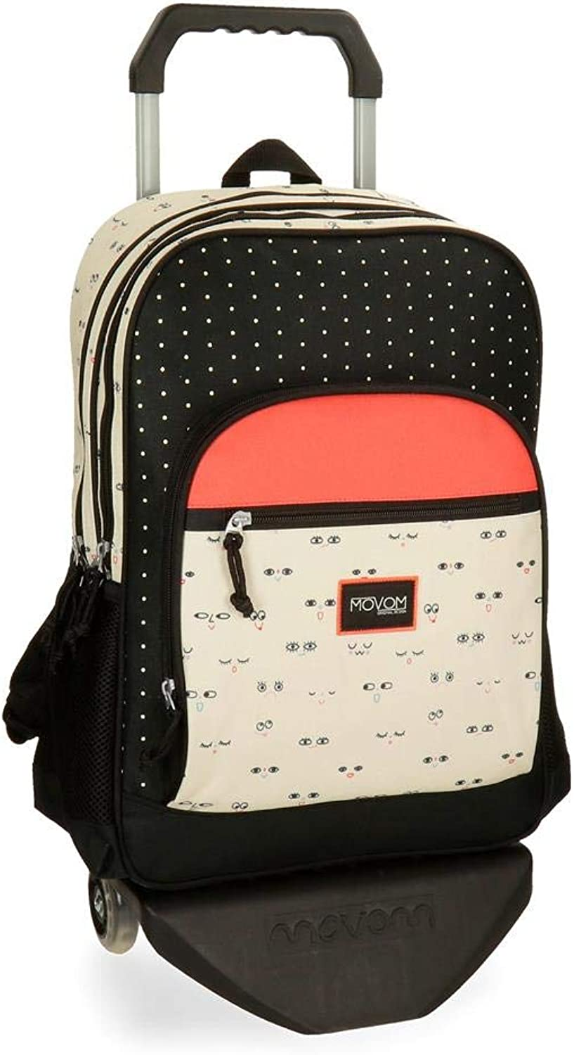 Movom Wink School Backpack, 45 cm, 21.6 liters, Multicolour (Multicolor)