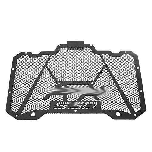 Parrilla del radiador Tapa/Ajuste for Kymco AK 550 de Acero Inoxidable/Ajuste for Kymco AK550 2017 2018 Accesorios de la Motocicleta Vespa AK550 de Piezas (Color : Black)