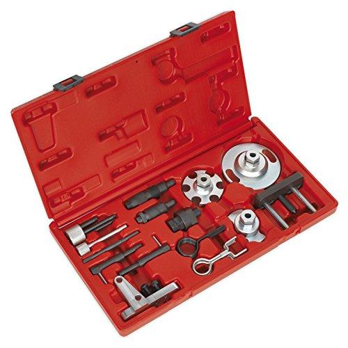 Sealey Vse6181 Réglage et Verrouillage pour Moteur Diesel et HP Pompe Retrait kit – VAG 2.7d, 3.0d TDI V6, 4.0d, 4.2D TDI V8 – Chain Drive