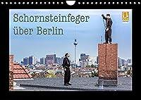 Schornsteinfeger ueber Berlin 2022 (Wandkalender 2022 DIN A4 quer): Der Gluecksbringer im Handwerk ist natuerlich der Schornsteinfeger. Bei seiner Arbeit in luftiger Hoehe erlebt er oft die schoensten Aussichten wie hier in Deutschlands Hauptstadt Berlin. (Monatskalender, 14 Seiten )