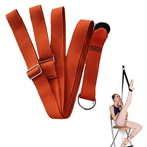 AHwjr Yoga Band,Stretch Belt,Pull Rope,Draagbare Multifunctionele Duurzame Woord Paard Split Bodybuilding Spier Training voor Dans Stretch Gymnastiek Family Gym
