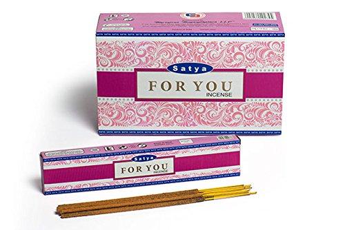 3 X pour vous souvenir de packs de bâtonnets d'encens Satya Nag Champa 15 g avec badge par Sterling Effectz