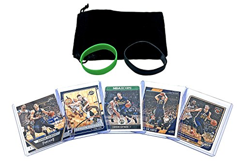 Gordon Hayward Basketball Cards Assorted (5) Bundle - Utah Jazz, Boston Celtics Trading Card Gift Pack