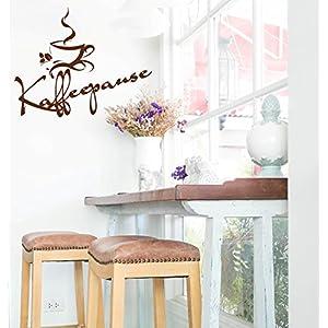 """*NEU* Wandaufkleber Wandtattoo Wandsticker für die Küche/Esszimmer Kaffee,Cafe,Coffee """"KAFFEEPAUSE"""" (Größen.- und Farbauswahl)"""
