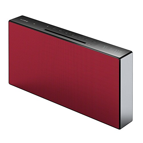 Sony CMT-X3CD Micro-HiFi System (CD, USB, Bluetooth, 20 Watt) rot