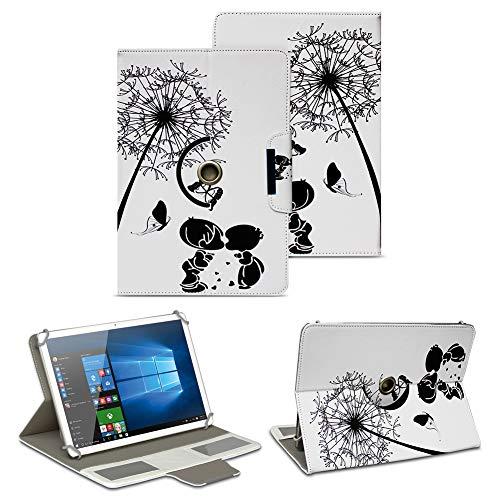 NAUC Schutz Hülle für 10-10.1 Zoll Tablet Tasche Schutzhülle Case Cover Bag, Motiv:Motiv 10, Tablet Modell für:Medion Lifetab X10300