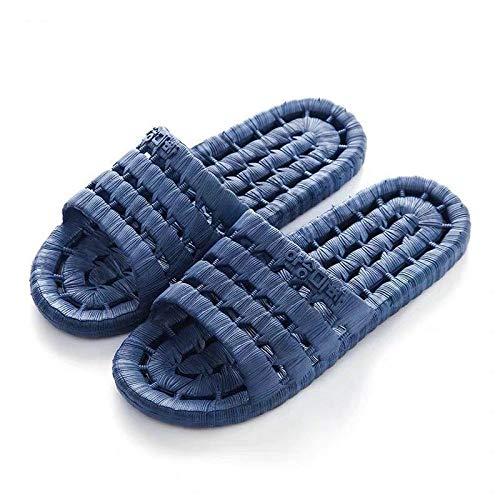 Zapatillas de baño para mujer, antideslizantes, con desodorante suave, 15 male-Navy 43 veraniegas
