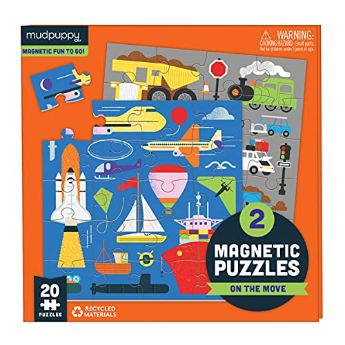 On the Move Magnetic Puzzles