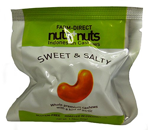 nuts+nuts(ナッツナッツ) カシューナッツ スウィート&ソルト 50g×4個