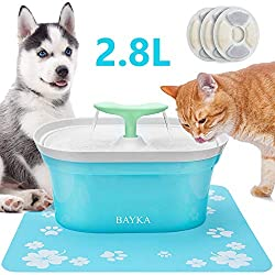 BAYKA Cat Water Fountain