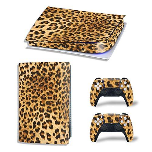 Adhesivo De Piel para PS5, Compatible con La Consola Playstation 5 (para...
