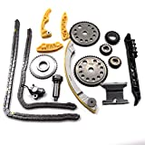 For 00-11 GM 2.0L 2.2L 2.4L Ecotec Engine Timing Chain w/Balance Shaft Kit L61...