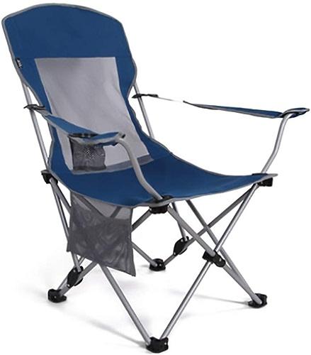 1949shop Fauteuil Pliant Simple et à la Mode, Chaise de Loisirs en Plein air, Chaise de Camping, Chaise de pêche (Couleur  Bleu)