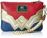 Loungefly Wonder Woman Faux Leather Wristlet Wallet, Red, Standard