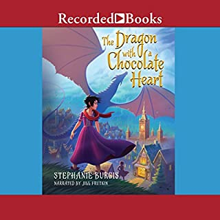 The Dragon with a Chocolate Heart cover art