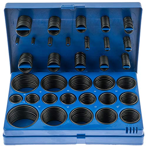 Satra S-419RA | O-Ring Sortiment 419-teiliges Dichtungsringe Set Oel Benzin Säure und hitzebestaendig