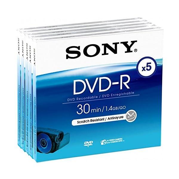 Sony DMR30A - DVD -R 1.4Gb 5X Pack 5