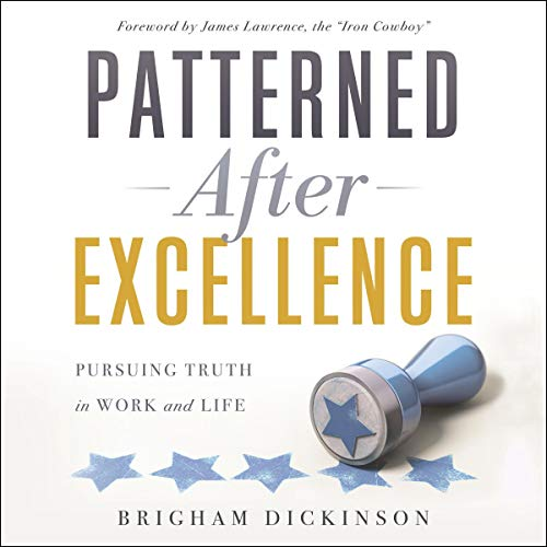 Patterned After Excellence audiobook cover art