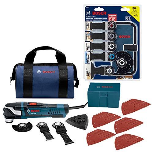 Bosch OSL6-GOP40 StarlockPlus Oscillating Multi-Tool Combo Kit