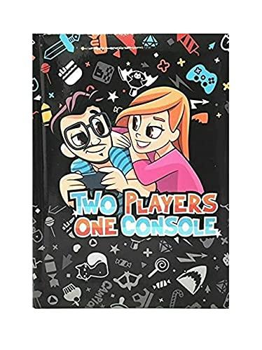 Scuola DIARIO Seven Two Players One Console Nero 2021/2022 20x15cm + Omaggio portachiave Gioco cubo e Penna Colorata