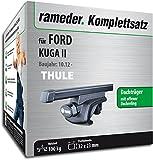Rameder Komplettsatz, Dachträger SquareBar für Ford KUGA II (116010-11097-36)