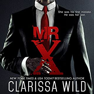 Mr. X audiobook cover art