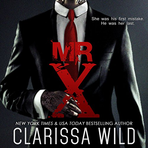 Mr. X audiobook cover art