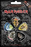 Iron Maiden 5púa unidades púas para guitarra