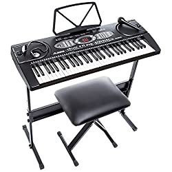 Alesis Melody Beginner Bundle Portable Keyboard - Best Piano Keyboards and Digital Pianos