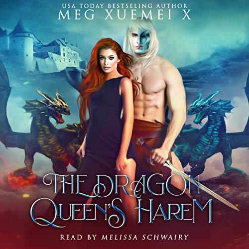 The Dragon Queen's Harem audiobook cover art