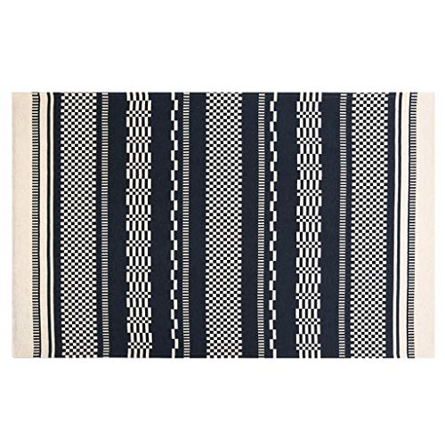 WLLOFG tapijt deurmat eenvoudige huishouding anti-slip mat, kan worden gesneden mat, geschikt voor Scandinavische woonkamer ingang deurmat, zacht niet gekruld, absorberend stofdicht, gemakkelijk te onderhouden, praktische mat