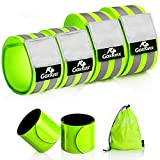 Reflective Bands Running Gear 6 Pack-Adjustable...