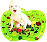 Piscinas hinchable Bebé bebé de juguete de la estera del juego inflable del verano del agua Pad Juguetes, Por tiempo boca abajo actividad promueve Visuales habilidades de movimiento Estimulación & mot