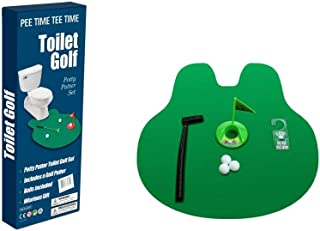 EZ DRINKER Toilet Golf - Putter Practice in The Bathroom Toy with This Potty Putter